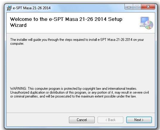 Running instalasi ESPT PPh 21