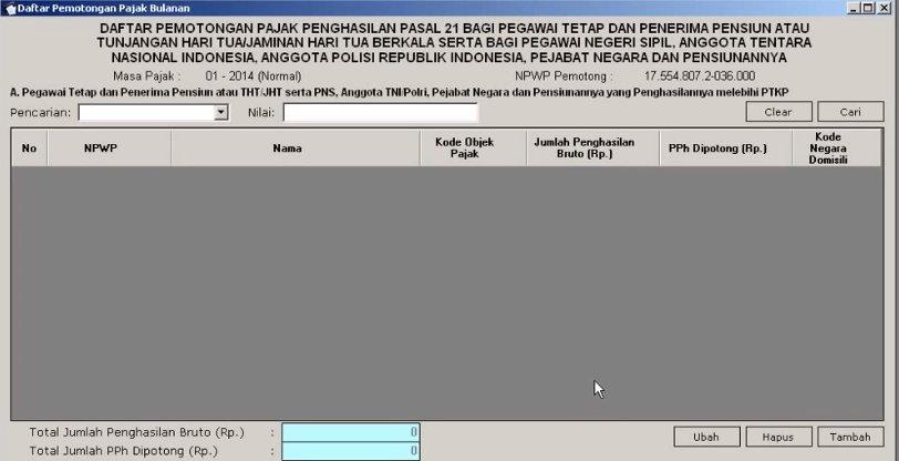 Perhitungan PPh 21 ESPT (4)