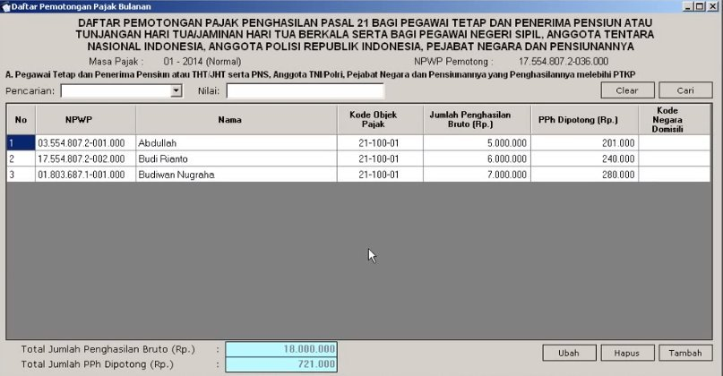 Perhitungan PPh 21 ESPT (6)