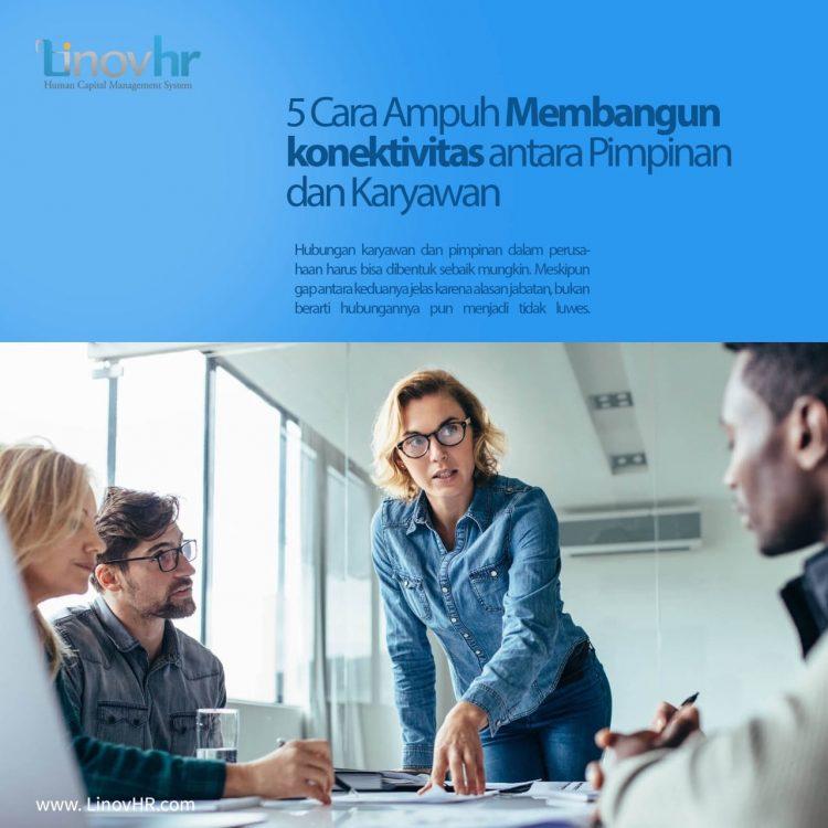 membangun konektifitas karyawan