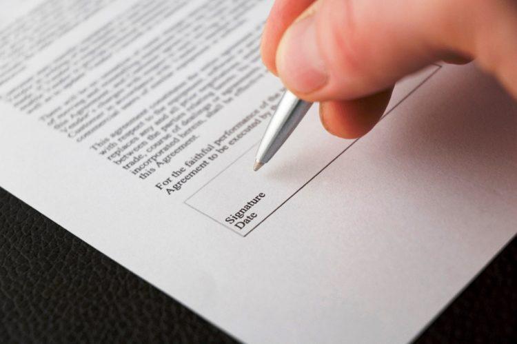surat perjanjian hutang