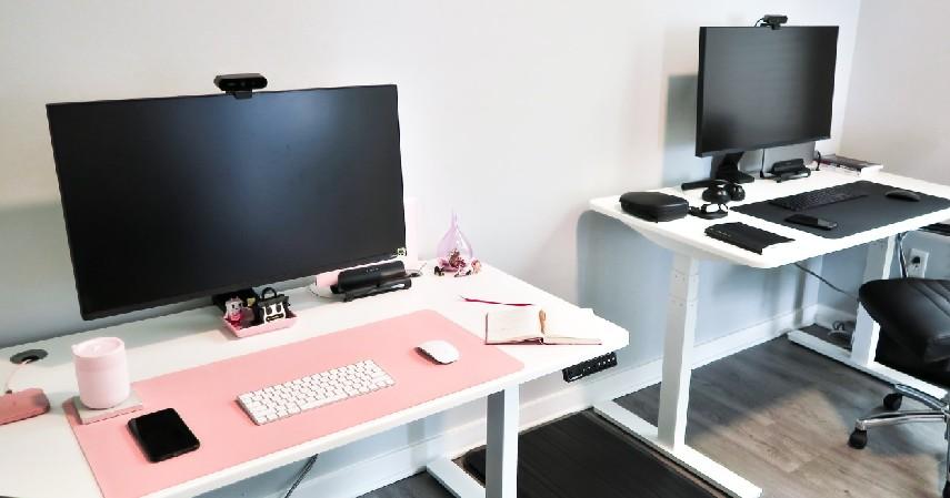 meja selalu rapi desain ruang kerja