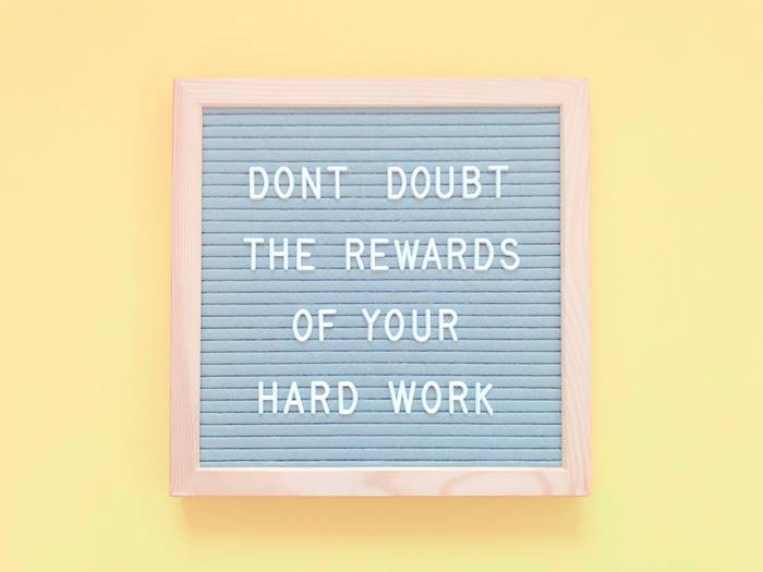 Kerja Keras untuk Reward