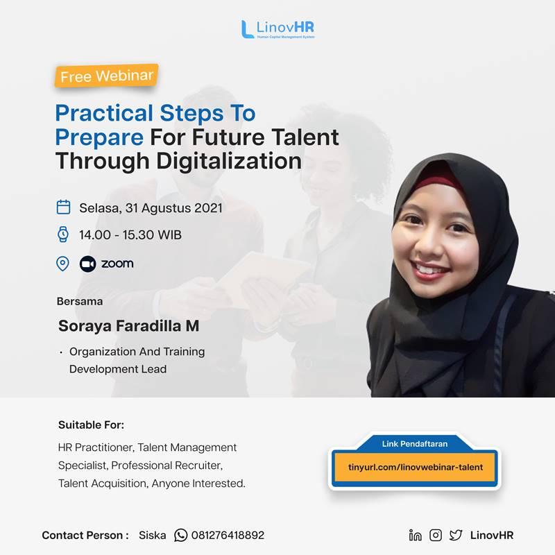 Webinar Practical Steps to Prepare for Future Talent Through Digitalization